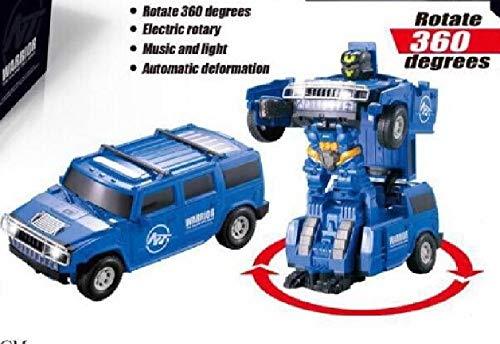 JuguetesFantasia.com Transformer Coche Hummer SO LUZ Y Sonido