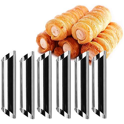 letuxiashop Moule à pâtisserie en forme de tourbillon rond en acier inoxydable en forme de tourbillon arc-en-ciel
