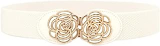 Waist Belts For Women pattern Elastic Waistband Decorative Four Casual Seasons,B
