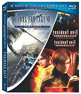Resident Evil: Degeneration/Final Fantasy VII: Advent Children  Bilingual [Blu-ray] (B003ZXNCEA) | Amazon price tracker / tracking, Amazon price history charts, Amazon price watches, Amazon price drop alerts