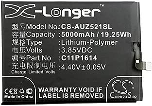 5000mAh Replacement Battery for Asus ZC521TL, ZenFone 3s Max, ZenFone 3s Max Dual SIM TD-LTE, ZenFone Pegasus 3S, ZenFone Pegasus 3S Dual SIM TD