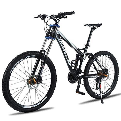24 del freno de disco / 27 Aceite de Down velocidad de frenos de bicicletas de montaña, variable Off-Road velocidad suave cola de la bicicleta, aceite doble freno de disco, la absorción de choque, Neg