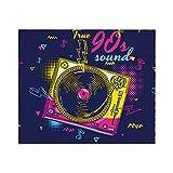 True 90s Sound Funky Music - Manta para sofá cama, ligera, para todas las estaciones, 50 x 60 pulgadas
