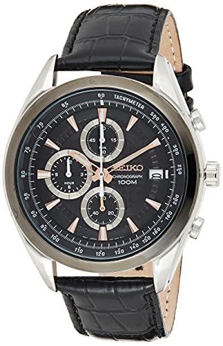 Seiko Reloj Cronógrafo de Cuarzo para...