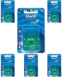 Oral-B Statin Tape Dental Floss 25m (6 Units) by Oral-B Satin Tape Mint