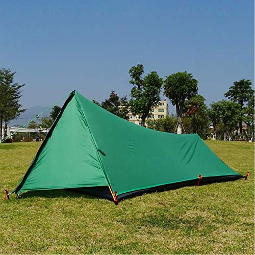 A Tower Ultralight Tent Camping Tent Hiking Mountain Backpacking Waterproof Single Tent 20D Silicone One Man Tent