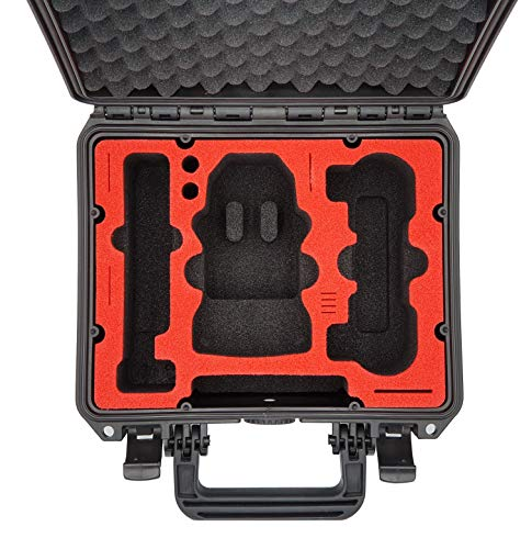 MC-CASES - Maletín Compacto para dji Mavic Mini y Accesorios, para Flymore Kombo sin Protector de hélice - y está Fabricado en Alemania.