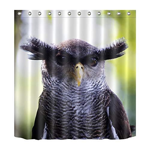 ZZZdz Wilde Tiere. Adler. Hauptdekoration. Duschvorhang. 180X180 cm. 3D Hd Druck. Wasserdicht. Leicht Zu Reinigen. 12 Freie Haken.