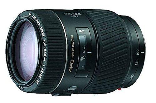 Konica Minolta Autofocus 100-300mm f/4.5-5.6 APO Lens for Maxxum SLR Cameras