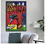 ZOEOPR Leinwand Poster Snoop Dogg Doggystyle Poster Tha