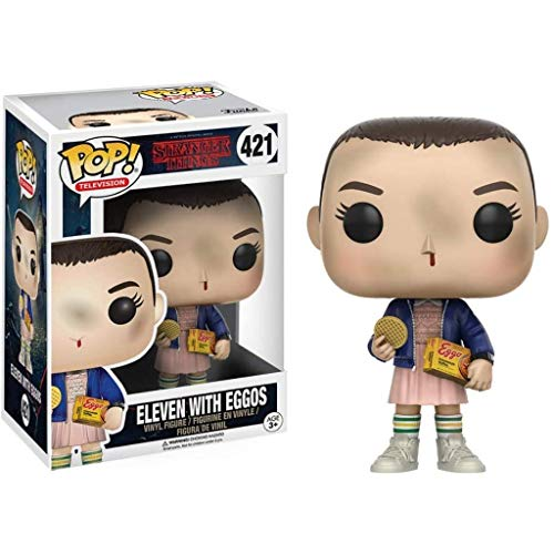 WWXX Pop Television : Stranger Things - Eleven with Eggos Collectible Figure #421 Exclusive