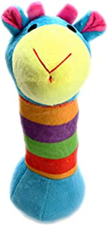 Joick Plush Squeaky Pet Chew Toy Pet Sound Play Doll Dog Chew Plush Toy Random Stripe Color - Style 2