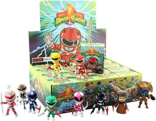 "Entertainment Earth Mighty Morphin Power Rangers 3"" Random Figure Case"