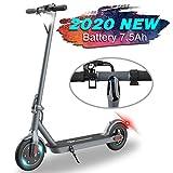 ម៉ូតូស្កូតឺម៉ាក MARKBOARD ម៉ូតូស្កូតឺរអគ្គិសនីអាចបត់បានឈ្មោះថា Foldable City Roller Scooter សម្រាប់មនុស្សពេញវ័យ - 7,5Ah - អំពូល LED ។