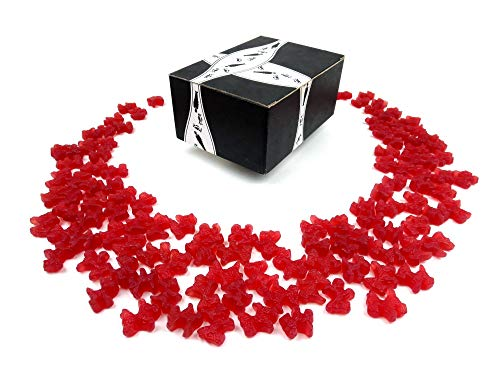 Gimbal's Classic Red Licorice Scottie Dogs, 2 lb Bag in a BlackTie Box