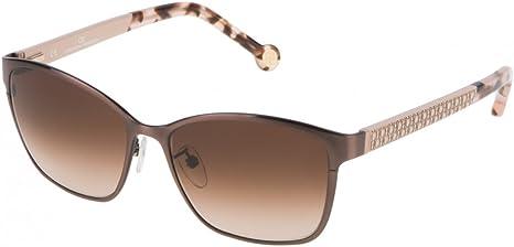 Carolina Herrera SHE06756K05G Gafas de sol, Marron, 56 para Mujer