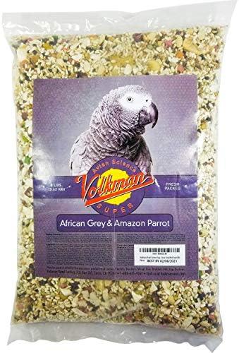 Volkman Avian Science Super African Grey Bird Food