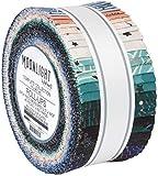Wishwell Moonlight Roll Up 40 6,3 cm Streifen Jelly Roll