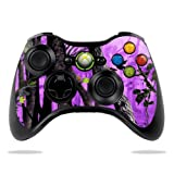 MightySkins Skin Compatible with Microsoft Xbox 360 Controller - Purple Tree Camo | Protective, Durable, and Unique Vinyl Decal wrap Cover | Easy to Apply, Remove, and Change Styles | Made in The USA