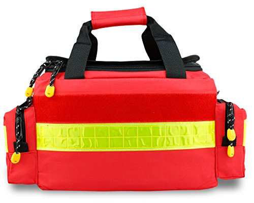 Notfalltasche DIN 13157 Rot Nylon 450 x 240 x 200 mm gefüllt