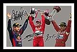 WSFrames Sebastian Vettel & Michael Schumacher & Ayrton