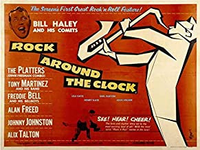 Rock Around the Clock POSTER Movie (22 x 28 Inches - 56cm x 72cm) (1956) (Half Sheet Style A)