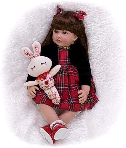 Reborn Baby Doll Handmade Max 89% OFF 2021new shipping free Newborn Weighted Vin Soft Dolls
