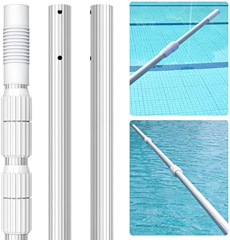 Professional 16 5 Foot Swimming Pool Pole 1 26mm Commercial Thicken Aluminium Telescopic Pole product image