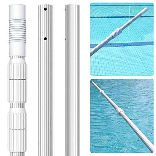 Professional 16.5 Foot Swimming Pool Pole, 1.1mm Commercial Thicken...