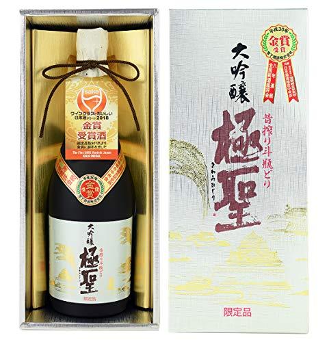 宮下酒造『大吟醸極聖 昔搾り斗瓶どり』