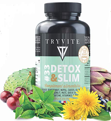 Cure detox foie:Coupe faim:Aide a contrôler le poids:artichaut,thé vert,guarana,pissenlit,cassis,zinc,queue de cerise,nopal,bromélaïne,maté,vitamines: 120 gélules végétales:Fabriqué en FRANCE