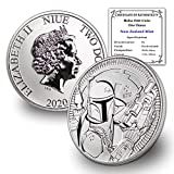 Stock Photo; Image is indicative of quality You will receive one coin per purchase Purity: .999 Fine Silver Metal Content: 1 Troy Ounce Coin will come with Certificate of Authenticity