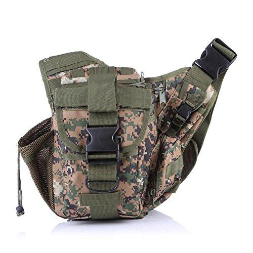 ELEAR® Tattico Militare Zaino Messenger Bag Tracolla Bag Marsupio Cameras Zaino Escursionismo Bag per Viaggiare Trekking alpinismo Camping e Altri All'aperto Sport