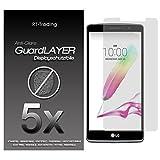 5x LG G4 Stylus - Bildschirm Schutzfolie Matt Folie Schutz Bildschirm Anti Glare Screen Protector Bildschirmfolie - RT-Trading