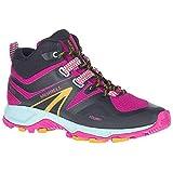 Merrell Women's MQM Flex 2 MID Low Rise Hiking Boots, Fuchsia, 3.5 UK