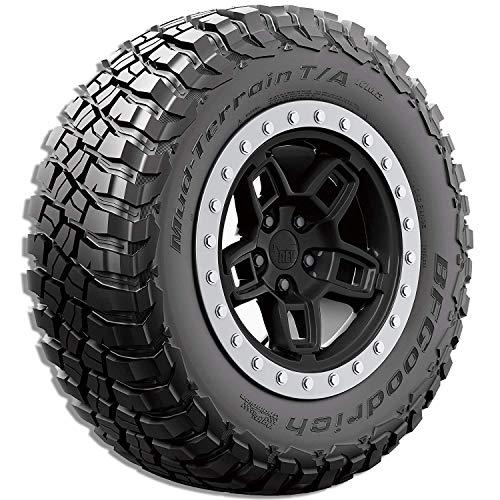 BFGoodrich Mud Terrain T/A KM3 Radial Car Tire for Light Trucks, SUVs, and Crossovers, 37x12.50R20/E 126Q