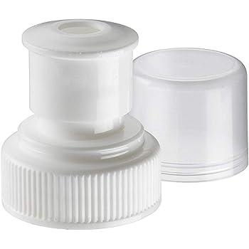 28mm Plastic Screw Caps for PET Bottle 50 pcs Undetectable Sneak Alcohol Reseal