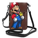 cartone animato borsa per cellulare borse a tracolla borse borsa in pelle custodia per cellulare custodia per portafoglio borse a tracolla tracolla rimovibile moda