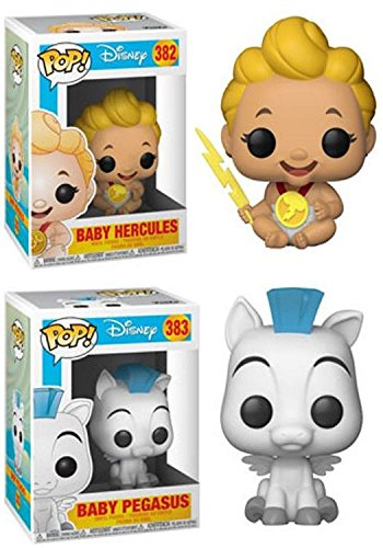 Funko POP! Hercules: Baby Hercules + Baby Pegasus – Disney Stylized Vinyl Figure Bundle Set NEW
