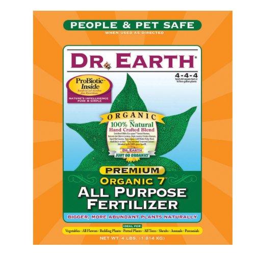 Dr. Earth 706P 749688916875 Premium Gold All Purpose Fertilizer 4 lb, Multi