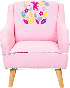 HFYAK Cartoons Sofa  Children Mini Children Sofa  nbsp Chair Furniture Solo Seats Living Room Bedroom Home Interior -Rose 47x45x63cm  19x18x25inch