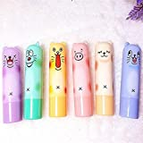 kelaina 1Creative Tierdesign Feuchtigkeitsspendende Lip Balm Care Herbal Lippenstift Lip Pen (zufällige Farbe)