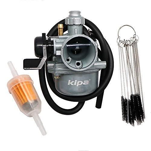 KIPA Carburetor for XR70R 1997-2003 CRF70F 2004-2012, OEM 16100-GCF-672 With Fuel Filter & Carbon Dirt Jet Cleaner Tool Kit