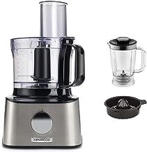 Kenwood Multipro Compact FDM301SS compacte keukenmachine, 2,1 liter, incl. roestvrijstalen messen, 3 werkschijven en 4 and...