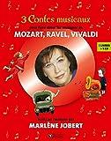 Coffret 3 contes musicaux - Pour faire aimer les musiques de Mozart, Ravel, Vivaldi