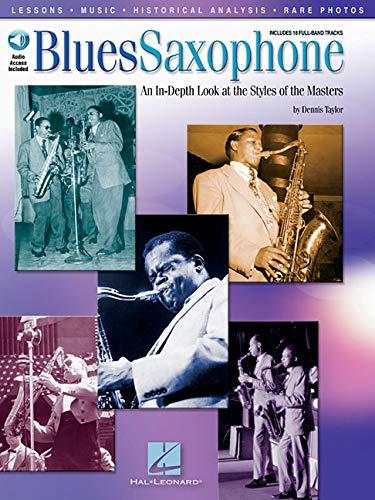 Blues Saxophone (Taylor) Book/Cd (Book, CD pack): Noten, CD für Saxophon