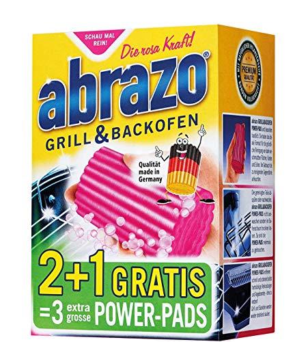 3 x 3er Pack brazo Grill & BackofenExtra Groß Stahlwolle mit fettlösender Seife