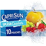 Capri Sun Splash Cooler Ready-to-Drink Juice (40 Pouches, 4 Boxes of 10)