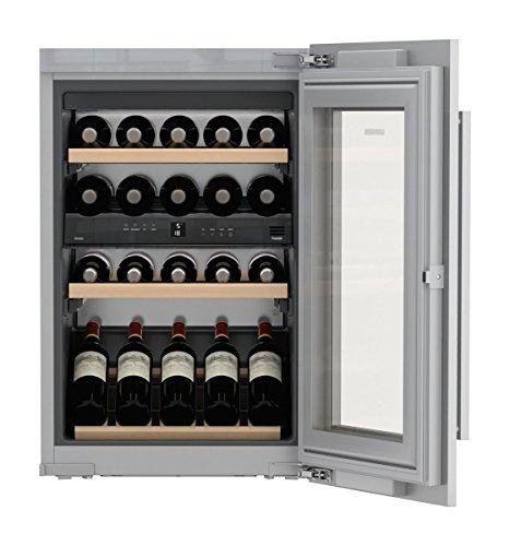 Liebherr EWTdf 1653 - Enfriador de vino (Integrado, Gris, Gris, 4 estanterías, 1 puerta(s), Blanco)