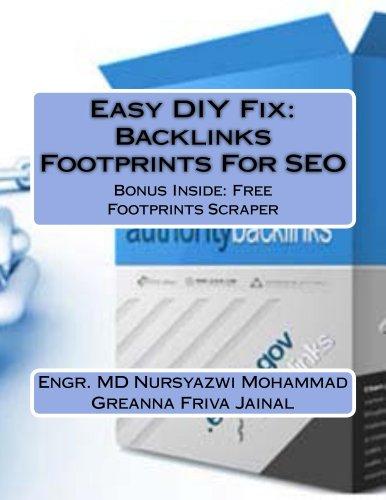 Easy DIY Fix: Backlinks Footprints For SEO (English Edition)